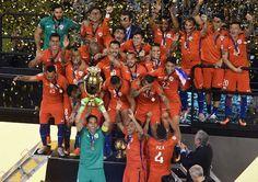 ¡Chile campeón de Copa América! Venció a Argentina en penales http://soloparatiradio.com/?p=10463 - Instagram / Twitter via @soloparatiradio