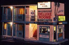 Miniature ghetto motel
