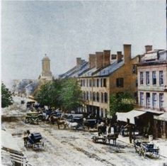 1860 Lexington, KY.  Simpler times