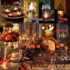 Harvest Decorations, Seasonal Decor, Fall Decor, Autumn Scenes, Autumn Aesthetic, Autumn Decorating, Autumn Cozy, Fall Pictures, Friday Pictures