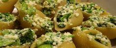 Foto - Receita de  Conchiglione com brócolis e ricota!