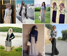 How to Wear a Maxi Dress in Fall - The Muslim Girl