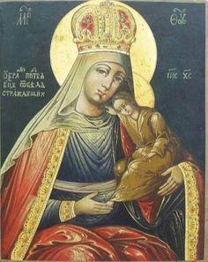 От бед страждущих (Избавление от бед страждущих) икона Божией Матери