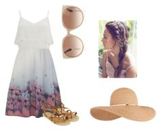 """""""Summer Days"""" by nataliehsieh ❤ liked on Polyvore featuring Vero Moda, Accessorize, Tom Ford and Eugenia Kim"""