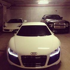 Ferrari, Audi, & Rolls Royce! ✨