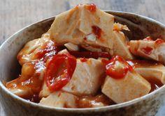 Pock-marked women's beancurd (Mapo Dofu) - Use Tamari instead of soy