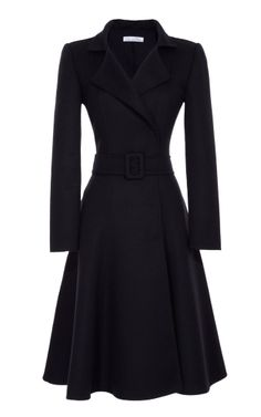 OSCAR DE LA RENTA Full-Skirted Coat