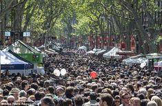 Туристов в Барселоне раздражают... туристы