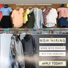 The Schaumburg location has spring vibes and is looking to add to their crew! Stop in to sell your spring/summer items and pick up a hiring flyer! Ask for the MOD!!  (manager on duty) http://ift.tt/2Ea0qO2 - facebook.com/rlwonderland