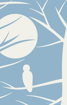 'Blue Owl' by Deborah Ouzts