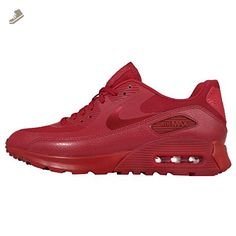 Nike Women's Wmns Air Max 90 Ultra Essential, GYM RED/GYM RED-UNIVERSITY