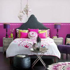 Moroccan Decor - Bed Sam's room