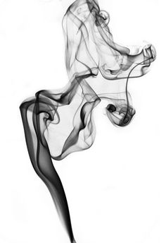 "ARTFINDER: Isadora (White background) by Carola Polakov - This series ""Smoke""  are photos of incense smoke. Because of my penchant for  pareidolia, (seeing things that are not there) I named them after the dancers t..."