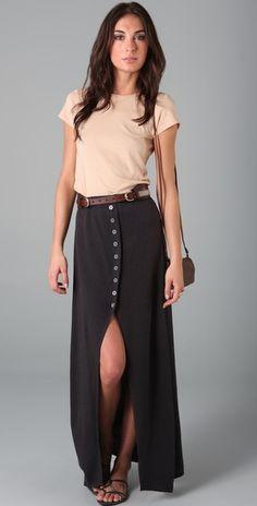 Elmira Maxi Skirt