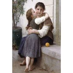 William Adolphe Bouguereau, Painting & Drawing, Painting Prints, Art Prints, Painting Frames, Munier, Academic Art, Classic Paintings, Contemporary Paintings