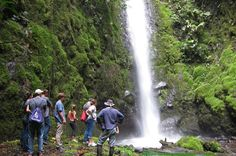 hiking, horseback riding and waterfall tour near La Fortuna