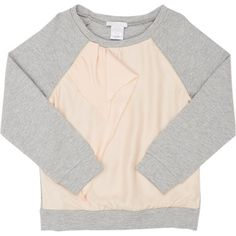 Chloé Ruffle-Front Combo Sweatshirt at Barneys.com