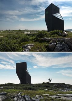 With its defining shape, this structure will easily draw you in from afar for a closer look.