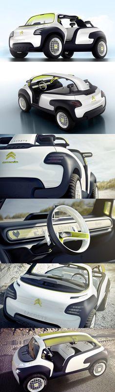 Dejate sorprender por tus intuiciones #Citroën #Lacoste #ConceptCar