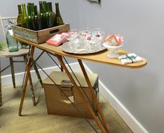 repurposed antique ironing board - Google Search