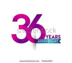 13th golden anniversary logo with gold ring and golden ribbon thirty six years anniversary celebration logotype colorfull design with blue ribbon birthday logo on white background buy this stock vector on stopboris Gallery
