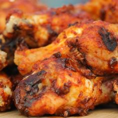 Grilled Honey Chipotle Wings by Tasty