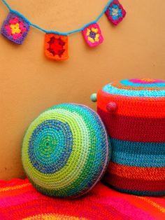 Innspiradas: Decorar con crochet