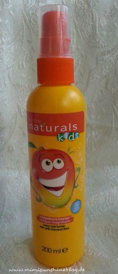 Mimi Sunshine Blog: Kinderhaare bändigen mit dem Avon Naturals Kids  M...