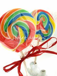 Piruleta Espiral Multicolor Grande