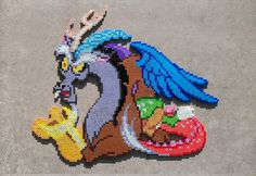 Discord Perler Bead Art by HexfloogCrafts on Etsy