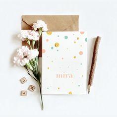 Geboortekaartje Mira