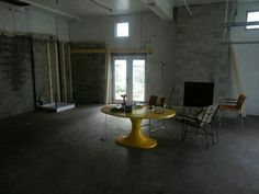 Now the floors in we can start love the radiant  Heated concrete floor