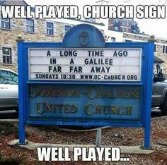 Funny Clean Humor Christians Church Signs 39 Ideas For 2019 Church Sign Sayings, Funny Church Signs, Church Humor, Funny Signs, Funny Memes, Memes Humor, Hilarious Sayings, Dog Humor, Hilarious Animals