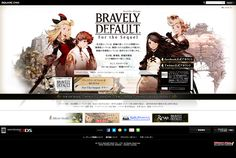 ブレイブリーデフォルト フォーザ・シークウェル|SQUARE ENIX  http://www.jp.square-enix.com/bdfts/index.html