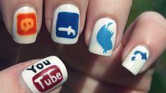 nails designs | 20 Amazingly Nerdy Nail Art Designs [PICS]