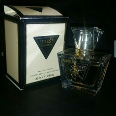 Guess seductive It's about 85% full and lovely to wear on a night out. It's a very grown and sexy scent. Key notes are white floral, woody, vanilla, fruity, and sweet. Guess Other