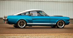 1965 Mustang Fastback Side Profile