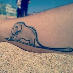 Little Prince Tattoo - and here you can see clearly that the boa constrictor has swallowed the elephant...be warned. - Ginn