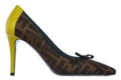 Fendi Damenschuhe Pumps mit Absatz High Heels pistacchio Braun - http://on-line-kaufen.de/fendi/fendi-damenschuhe-pumps-mit-absatz-high-heels-2