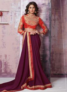 Pristine Lace Work Designer Saree