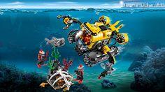Лего мультики.Затонувшие сокровища. Мультики про машинки.Развивающие мул...