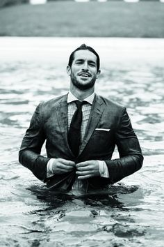 First impression, love the name; totally clueless who he is. But corrr...that face - Justice Joslin