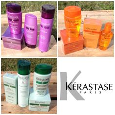 Hey guys! Does anyone know Kérastase. Cause if you are interested in trying one of their products, visit nicebeauty.com. We have a lot of series such as Nutritive, Age Premium and Resistance as you can see in the picture. :-)