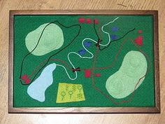 Three-dimensional mapping activity - this could be a fun project tied into a bigger activity similar to Dora where they have to go three places and solve a problem before moving on