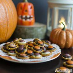 All in One: Pretzel de chocolate y lacasitos para Halloween