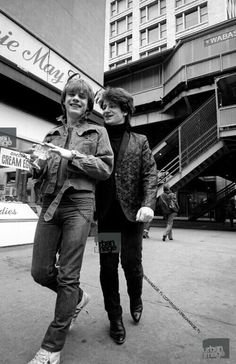 U2 very early days, Larry Mullens Jr and Bono.