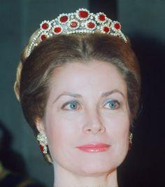 Tiara Rubies  Princesa Grace de Monaco