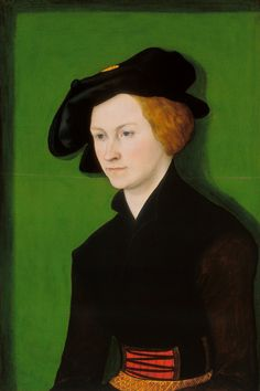 The Athenaeum - Portrait of a Woman (Lucas Cranach the Elder - )