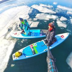 SUP Ice // @crlru Check out! www.supcity.nl for al your SUP adventures