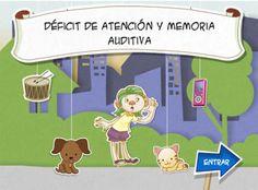 DÉFICIT DE ATENCIÓN Y MEMORIA AUDITIVA